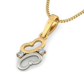 Binny 0.07Ct Lab Created Diamond Pendant