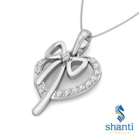 Mimi 0.10Ct Lab Created Diamond Heart Pendant