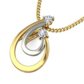 Le Vian 0.07Ct Lab created Diamond Pendant