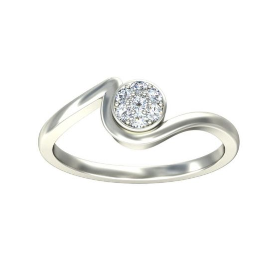 Buy Bubble Cluster Engagement Ring Online Shopping Store