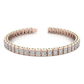 Minee 16.34ct diamond tennis bracelet