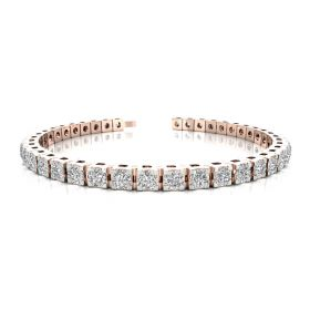 Gracy 9.43ct diamond tennis bracelet