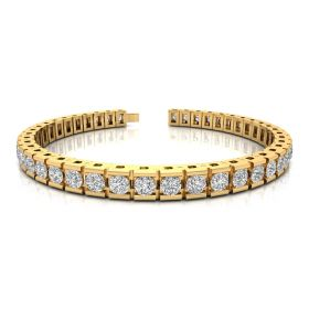 Maze 9.89ct diamond tennsi bracelet