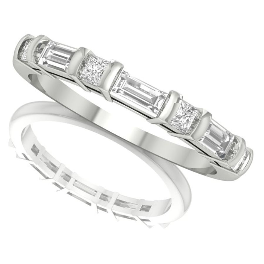baguette-cut-diamond-wedding-ring