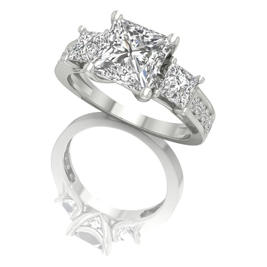 princess-cut-solitaire-engagement-rings