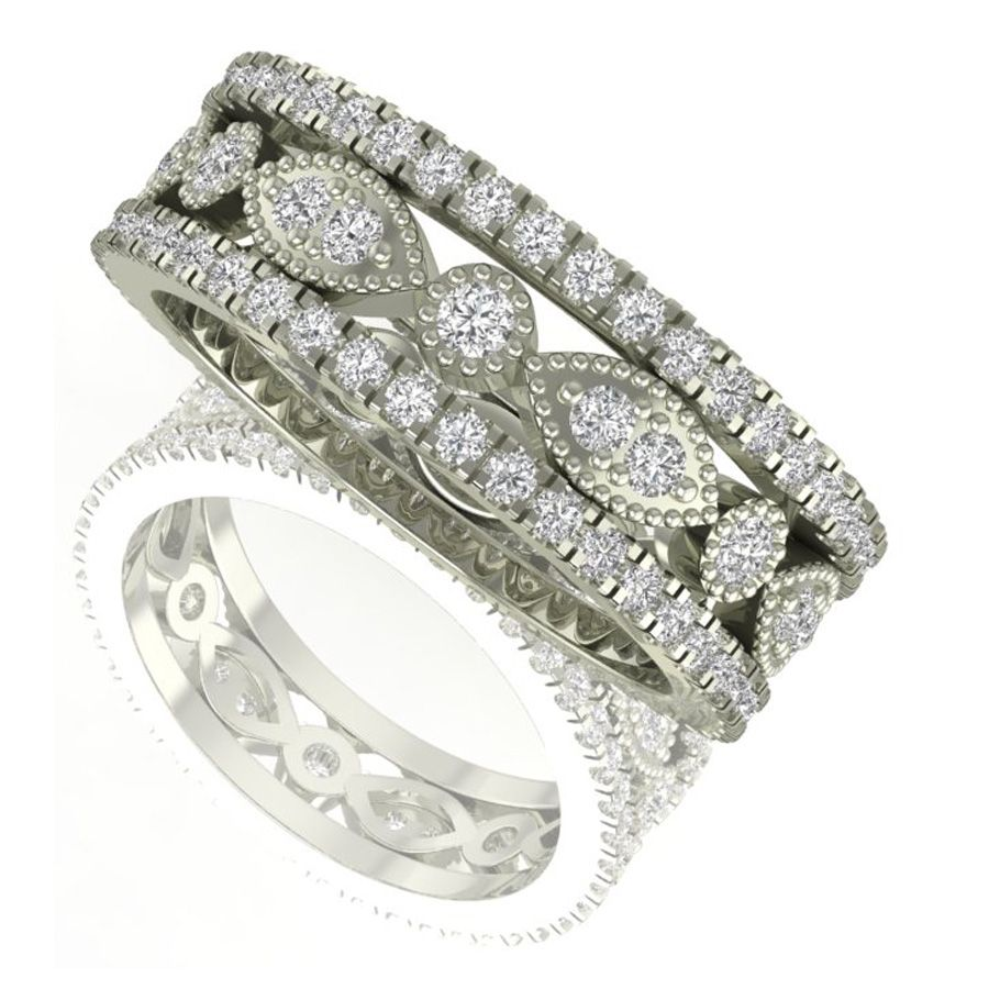 trio-stackable-diamond-wedding-band